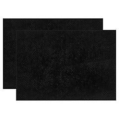 Set 2 piso de baño Memorex negro