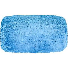 Cojín tubular azul 40 cm