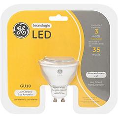 Ampolleta led GU10 3/35W luz cálida