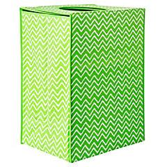 Cesto plegable 40x30x55 cm verde