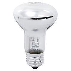 Ampolleta Eco halógena R63 42w  luz cálida E27