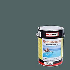 Plastipiscina 33 gris acero