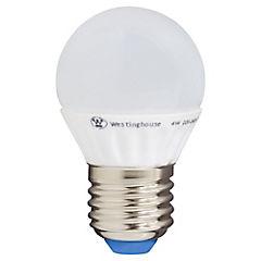 Ampolleta led bola 4W luz cálida  E27
