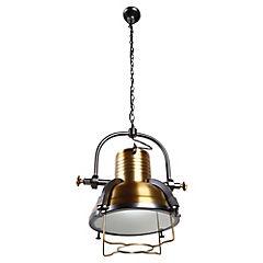 Lámpara de colgar Ind Jose 1 luz E27