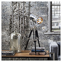 Lámpara de mesa foco Firen 1 luz E27