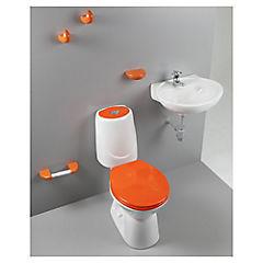 Asiento + accesorios happy naranja