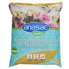 Musgo para orquídeas 200 gr bolsa