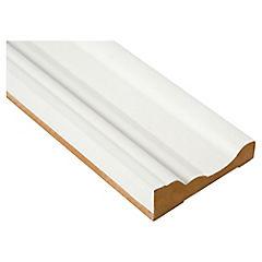 Moldura folio blanco GP387 25x82 cm
