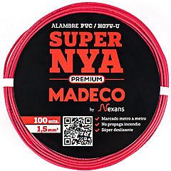 Premium NYA H07v-u 1,5 rojo 100
