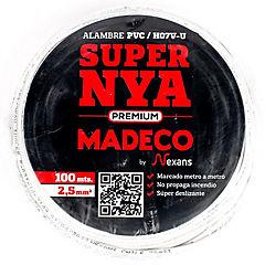 Premium NYA H07v-u 2,5 blanco 100