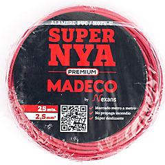 Premium NYA H07v-u 2,5 rojo 25m