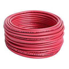 Alambre de cobre aislado 2,5 mm2 Rojo 5 m