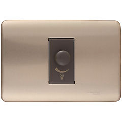 Dimmer 100 a 500 W Bronce