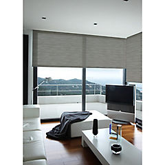 Cortina enrollable Screen gris 105x250 cm