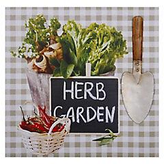 Canvas 3D 40x40 cm Hierba Jardín