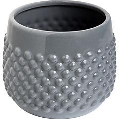 Vasija Dot cerámica H13,5X16