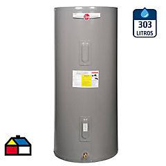 Termo eléctrico 303 litros de 220V pie