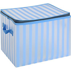 Caja organizadora para textiles 28x20 cm celeste