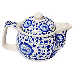 Tetera cerámica con filtro y tapa 350 ml
