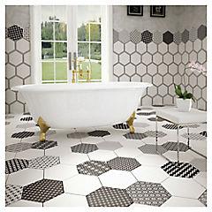 Porcelanato 33x28,5 Grazia Hexagonal