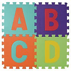 Alfombra infantil 36 piezas número y letras