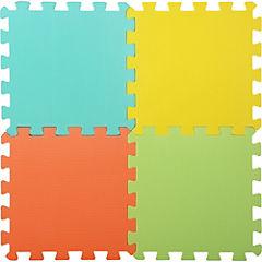Alfombra infantil 10 piezas colores