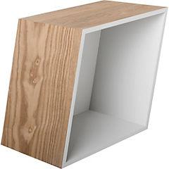 Set de repisas madera 48x20x37 cm 3 unidades café
