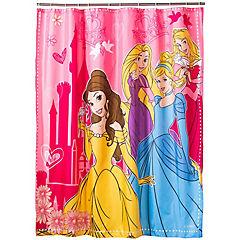Cortina de baño Princesas