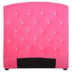 Respaldo 115x120x8 cm rosado