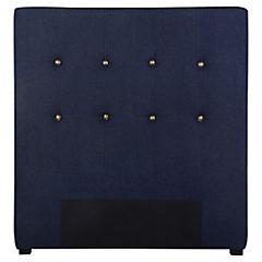 Respaldo para cama 115x120x8 cm Azul