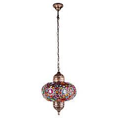 Lámpara colgante Bombay 40W