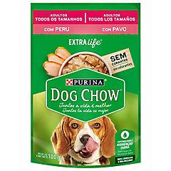 Dog chow cena de pavo adultos 100 gr