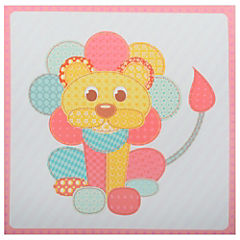 Canvas decorativo infantil León 30x42,5 cm
