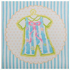Canvas 28x28 cm Bebé jumper