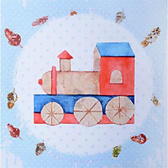 Canvas decorativo infantil Locomotora 30x42,5 cm