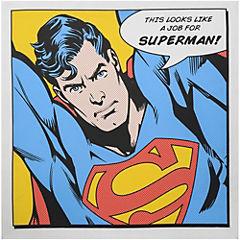 Canvas Superman 60x60 cm