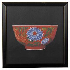 Cuadro Bowl Blossom 33X33 cm