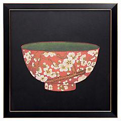 Cuadro Bowl Rojo 33X33 cm