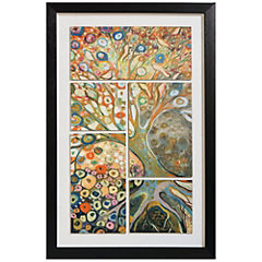 Cuadro enmarcado 60x90 cm Collage Fantasia 2