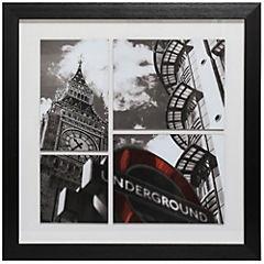 Cuadro enmarcado 60x60 cm coll city 3