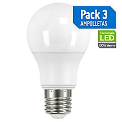 Pack de ampolletas LED luz calida
