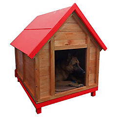 Casa para perro 100x80x110 cm