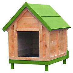 Casa para perro 80x60x90 cm