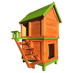 Casa para perro 120x75x70 cm