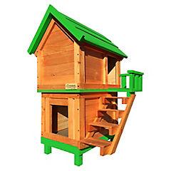 Casa para perro 110x65x60 cm