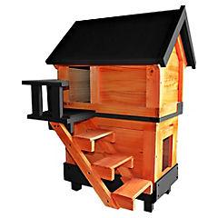 Casa para perro 100x55x50 cm