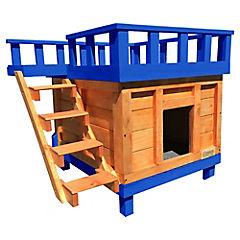 Casa para gato terraza grande