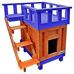 Casa para gato 50x60x70 cm