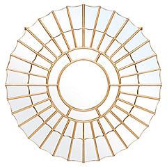 Espejo redondo 80 cm metal