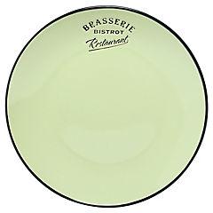 Plato entrada 21 cm verde Bistrot